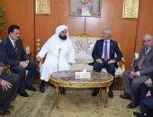 رئيس جامعة المنوفية يستقبل الحبيب على الجفرى