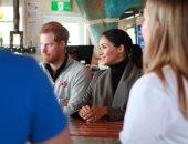 صور.. الأمير هارى وميجان ماركل يحضران جلسة للصحة العقلية فى مقهى بنيوزيلندا