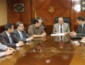 محافظ كفرالشيخ يبحث تطوير مركز المعلومات مع وفد مجلس الوزراء