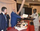 صور ..أكاديمية الشرطة تخرج 119متدربا أفريقيا فى مجال مكافحة الهجرة غير الشرعية
