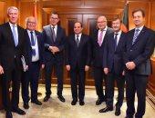 الرئيس السيسي يلتقى وزير النقل الألماني