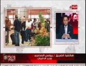 """وزير الطيران لـ""""خالد أبو بكر"""": الروس يؤكدون أن مصر بها أقصى درجات التأمين والتشغيل"""