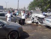 حبس سائق سيارة نقل 4 أيام بتهمة دهس 7 سيارات ملاكى بالشيخ زايد