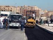 """""""المرور"""" يعيد فتح كوبرى عباس أمام حركة السيارات بعد انتهاء الإصلاحات"""