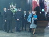 الرئيس السيسي يصل مقر المستشارية ببرلين.. وأنجيلا ميركل تستقبله.. صور