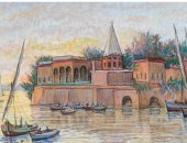 تعرف على أسعار لوحات الراحل محمد صبرى فى المزادات العالمية