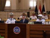 صور.. وزير الداخلية فى كشف الهيئة: انتقاء أفضل العناصر بكلية الشرطة