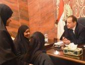 نائب محافظ أسوان: توفير 12 فرصة عمل وصرف تكافل وكرامة لـ7 مواطنين