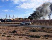 مصرع عامل وإصابة 2 في حريق محطة وقود بأولاد صقر فى الشرقية