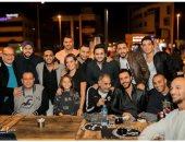 أوس أوس شاكرا أصدقائه على حضور افتتاح مطعمه الجديد: شرفتونا ونورتونا