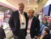 رئيس الجمباز  يشكر نظيره الروسي على استضافة المنتخبات المصرية