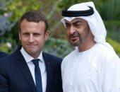 محمد بن زايد يتلقى اتصالاً من الرئيس الفرنسى لتعزيز العلاقات بين الدولتين