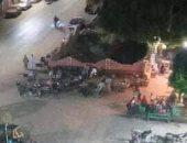 قارئ يناشد بإغلاق المقاهى المخالفة بمحيط مستشفى جامعة سوهاج