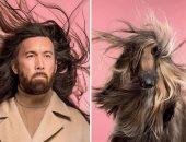 يخلق من الشبه أربعين.. ثنائيات تحمل ملامح متشابهة بين الكلاب وأصحابها