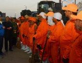 سكرتير محافظة سوهاج يقود تطبيق المنظومة الجديدة للنظافة بالمحافظة