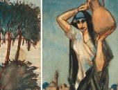 تعرف على أسعار لوحات محمود سعيد بعد بيعها فى كريستيز