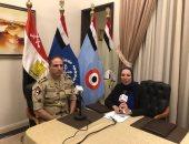 فى أول حوار إذاعى له المتحدث العسكرى للقوات المسلحة فى ضيافة راديو مصر