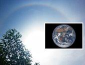 """صور.. السماء تتلألأ نهارًا وليلاً لهواة الظواهر الفلكية.. نجم """"الغول"""" يزين سماء الوطن العربى حتى مطلع نوفمبر.. و""""هالات"""" تُحيط قرص الشمس نهارًا.. و""""دسكوفر"""" يرصد أحدث صورة للكرة الأرضية"""