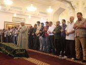 تشييع جثمان حمدى قنديل لمثواه الأخير من مسجد الرحمن الرحيم