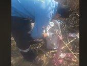 العثور على جثة طفل ملقاة بأرض زراعية فى أطفيح