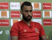 آلام الضامة تُطارد حسام عاشور في مباراة الأهلي وبيراميدز