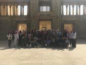 طلاب جامعة السويس يزورون استوديوهات مدينة الإنتاج الإعلامى