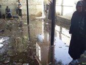 شكوى من انتشار المياه الجوفية بسجل مدنى أبو تشت فى قنا