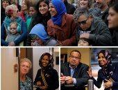 رغم سياسات ترامب المعادية للمهاجرين.. لاجئة صومالية على أعتاب الصعود إلى الكونجرس.. إلهان عمر مرشحة ديمقراطية فى انتخابات التجديد النصفى.. وتضع مقاضاة وعزل الرئيس الأمريكى كأولوية فى أجندتها الانتخابية (صور)