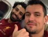 مدافع ليفربول يكشف سر صداقة محمد صلاح