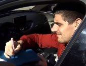 فيديو.. لمحة إنسانية رائعة من كورتوا قبل تدريبات ريال مدريد