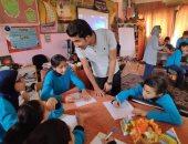 """صور .. """"خدعوك فقالوا """" مبادرة جديدة لصندوق الإدمان لتوعية طلاب المدارس"""