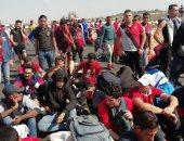 بدء توافد جمهور الأهلى على استاد برج العرب بالإسكندرية