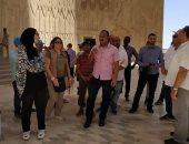 صور.. 211 شابا وفتاة يمثلون 20 دولة عربية فى زيارة للسد العالى