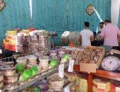 مديرية أمن المنوفية تنظم معرضا لبيع حلوى المولد بأسعار مخفضة في شبين الكوم