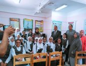 شركة مياه الفيوم تعقد ندوة لتوعية طلاب المدارس بترشيد استهلاك المياه