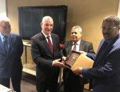 المشير خليفة حفتر يبعث رسالة خطية إلى رئيس مفوضية الاتحاد الافريقى