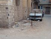 شكوى من ظاهرة الحواجز الحديدية بشوارع السيدة زينب