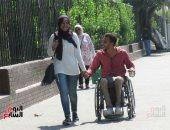 صورة اليوم.. الحب على الطريقة المصرية.. تضحية ووفاء لآخر المشوار