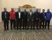 محمود سعد يحضر اجتماعات اتحاد شمال أفريقيا فى تونس