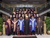 جامعة الأزهر تحتفل بتخريج الدفعة 5 من سفيراته الماليزيات من طب الأسنان