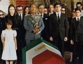 معلومة × صورة.. قصة وفاة شاة إيران فى مصر وجنازته العسكرية عام 1980