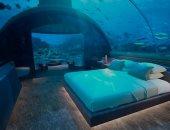 نام مع الأسماك.. فيلا تحت البحر فى المالديف بـ50 ألف دولار فى اليوم الواحد.. صور