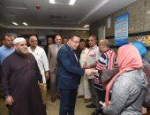 محافظ الإسكندرية: خروج 16 مصابا بحادث أوتوبيس النفايات الخطرة من المستشفى
