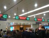 استعدادات مكثفة فى مطار شنغهاى لاستقبال زوار المعرض الأول للواردات