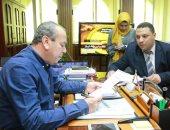 """الاستعداد لمبادرة """"100 مليون صحة"""" وصيانة حنفيات الحماية المدنية بكفر الشيخ"""