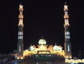 صور..  مسجد المينا الجامع بالغردقة تحفة معمارية تستهوى السائحين