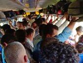 قارئ يطالب بزيادة أعداد قطارات خط المناشى تجنبا للزحام