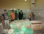 صور .. رئيس مدينة أبورديس يشدد على توفير رغيف الخبز ويشيد بالمدرسة الصناعية