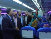 وزير النقل يصل أسوان قبل ساعات من جولته التفقدية بعدد من المشروعات