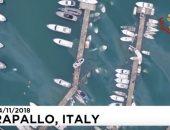 فيديو.. مشاهد تحبس الأنفاس بعد دمار بعض المدن الإيطالية بسبب الأمطار